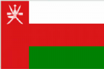 Oman Large Country Flag - 3' x 2'.